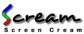 Scream Screen Paint Logo
